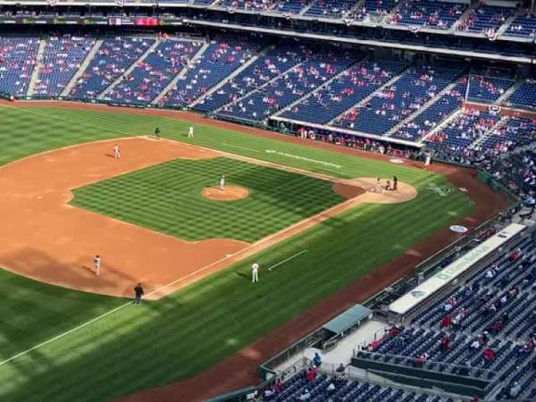 Citizens Bank Park, section: 431, row: 6, seat: 19