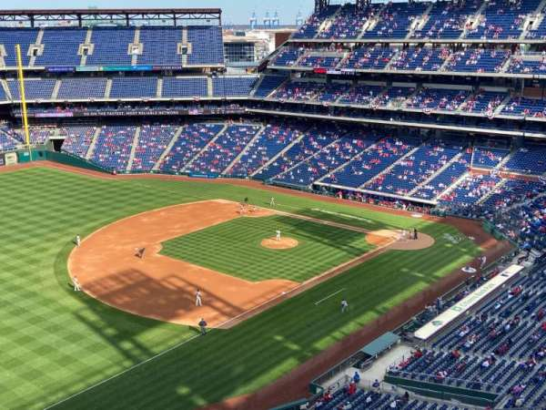 Citizens Bank Park, section: 431, row: 6, seat: 18