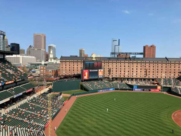 Oriole Park at Camden Yards, section: 368, row: 23, seat: 7
