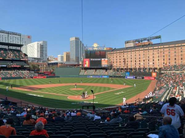 Oriole Park at Camden Yards, section: 37, row: 29, seat: 1