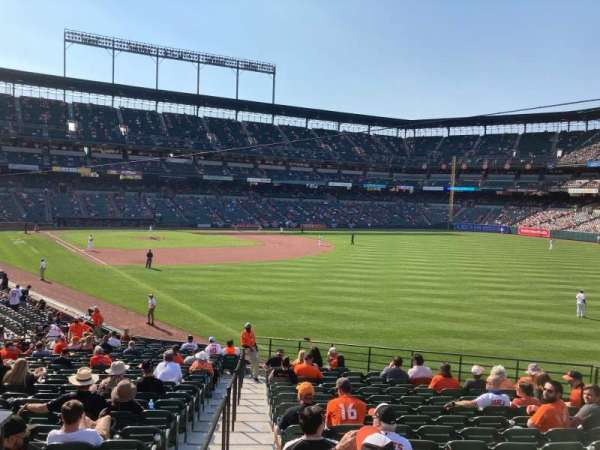Oriole Park at Camden Yards, section: 8, row: 27, seat: 1
