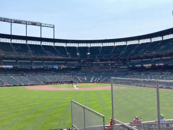 Oriole Park at Camden Yards, section: CENTER, row: FIELD, seat: SRO