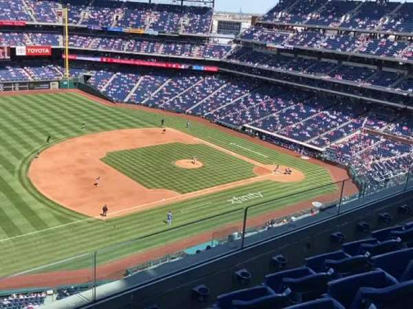 Citizens Bank Park, section: 429, row: 4, seat: 22