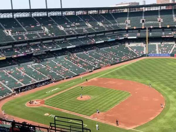 Oriole park At Camden Yards, section: 312, row: 21, seat: 15