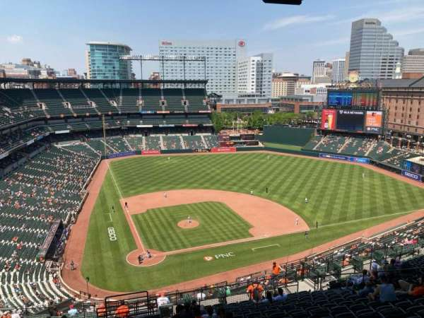 Oriole Park at Camden Yards, section: 328, row: 25, seat: 17