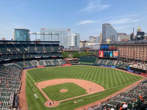Oriole Park at Camden Yards, section: 330, row: 22, seat: 18