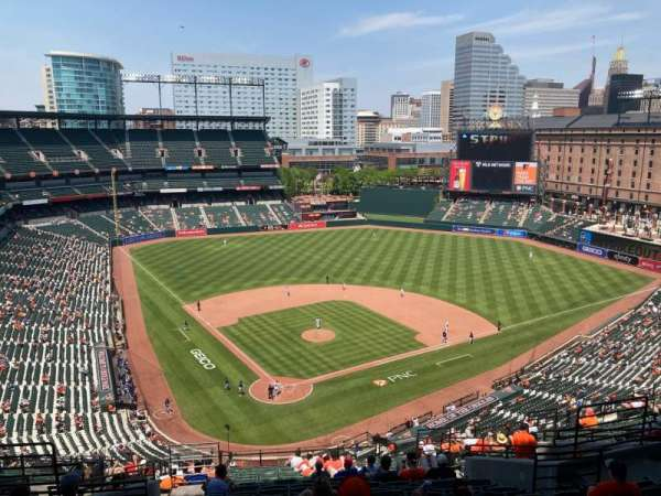 Oriole Park at Camden Yards, section: 332, row: 21, seat: 11