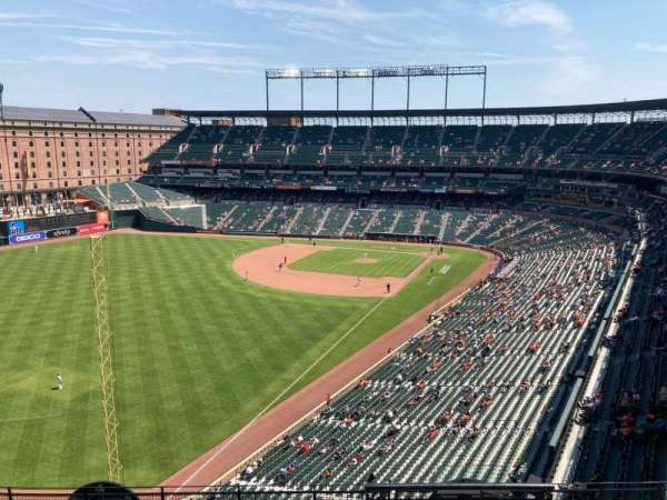 Oriole Park at Camden Yards, section: 376, row: 11, seat: 1