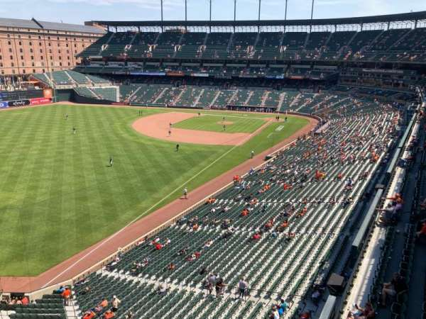 Oriole Park at Camden Yards, section: 376, row: 1, seat: 6