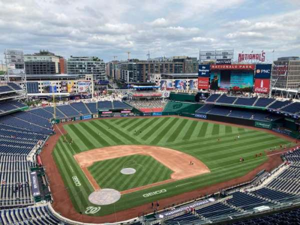 Nationals Park, section: 416, row: N, seat: 30