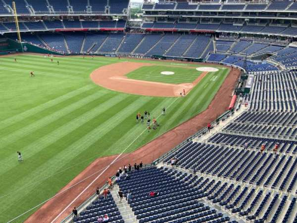 Nationals Park, section: 301, row: A, seat: 1