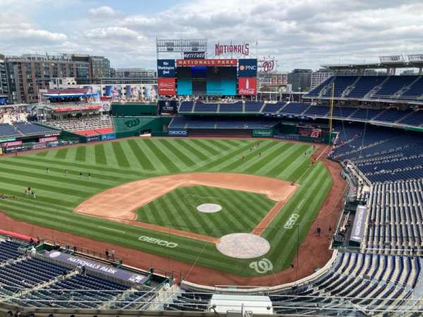 Nationals Park, section: 311, row: N, seat: 30