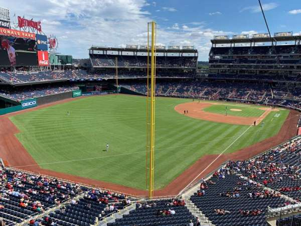 Nationals Park, section: RAMP, row: NEAR, seat: 201