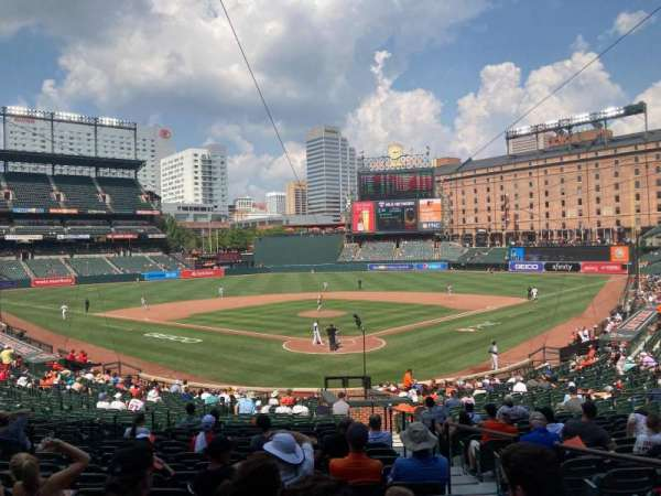 Oriole Park at Camden Yards, section: 38, row: 23, seat: 11