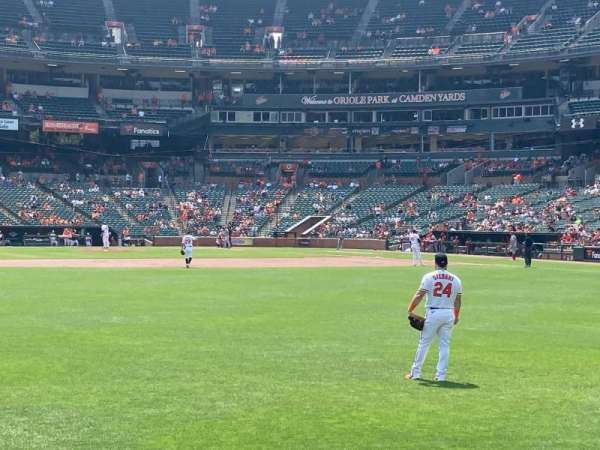 Oriole Park at Camden Yards, section: 84, row: 1, seat: 7