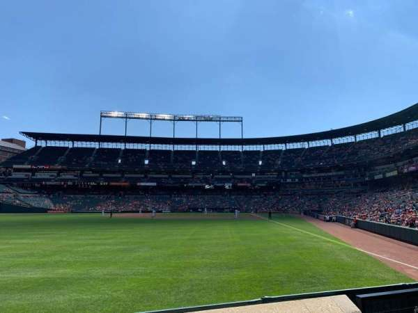 Oriole Park at Camden Yards, section: 76, row: 3, seat: 5