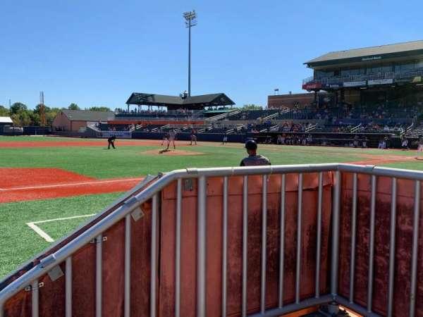 Ripken Stadium, section: 116, row: 1, seat: 1