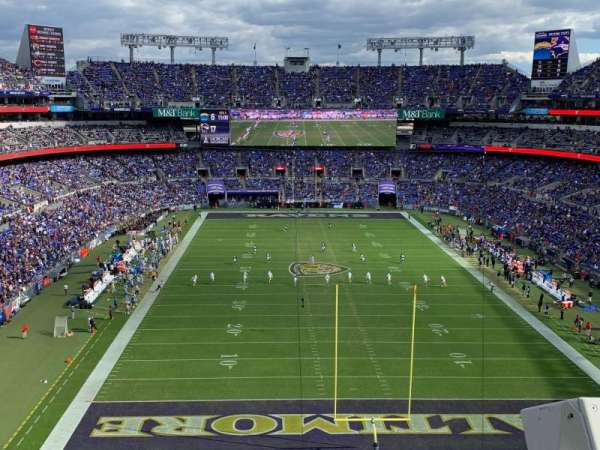 M&T Bank Stadium, section: 513, row: 2