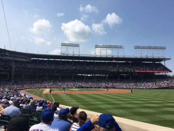 Wrigley Field, section: 133, row: 5, seat: 8