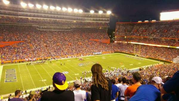 Ben Hill Griffin Stadium, section: 43, row: 81, seat: 9