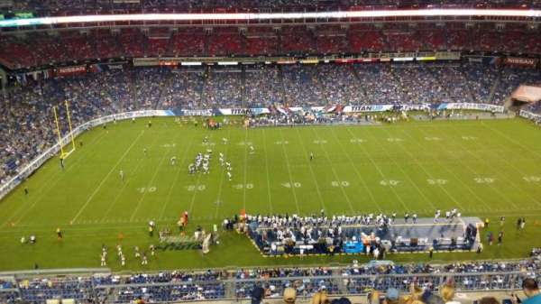 Nissan Stadium, section: 313, row: H, seat: 14