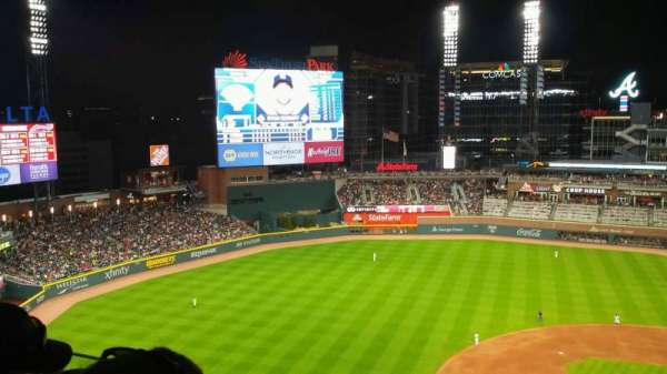 Truist Park, section: 433, row: 3, seat: 9