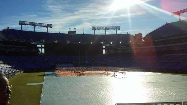 M&T Bank Stadium, section: 115, row: 42, seat: 1