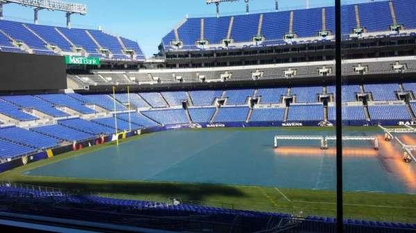 M&T Bank Stadium, section: Press Box