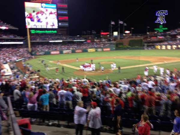 Citizens Bank Park, section: 122, row: 27