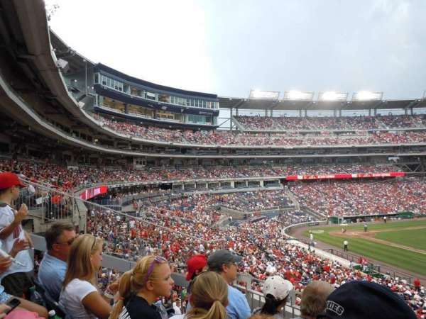 Nationals Park, section: 223, row: C