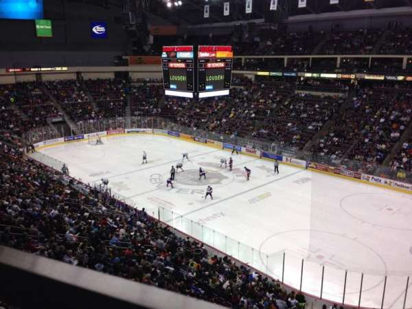 Giant Center, section: 223, row: A, seat: 9