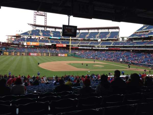 Citizens Bank Park, section: 133, row: 40, seat: 15