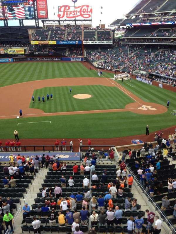 Citi Field, section: 326, row: 1, seat: 13
