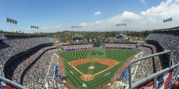 Dodger Stadium, section: 2TD, row: B, seat: 17