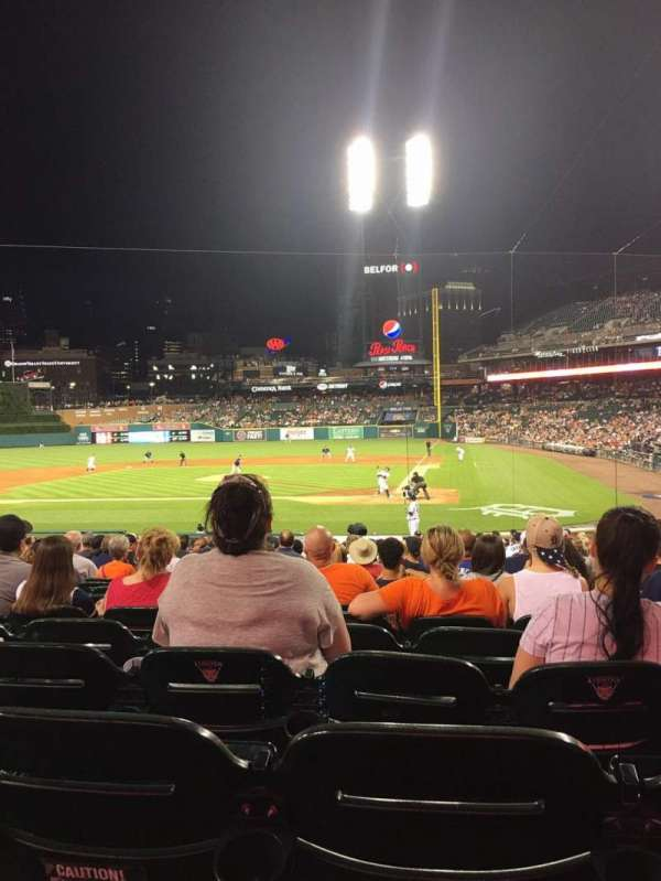 Comerica Park, section: 131, row: 27, seat: 8