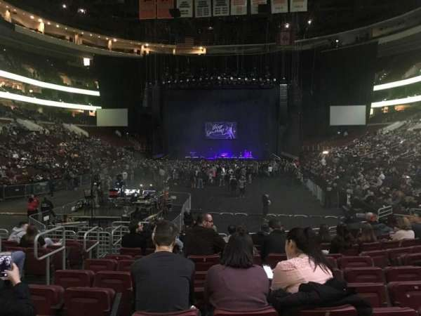 Wells Fargo Center, section: 108, row: 12, seat: 5