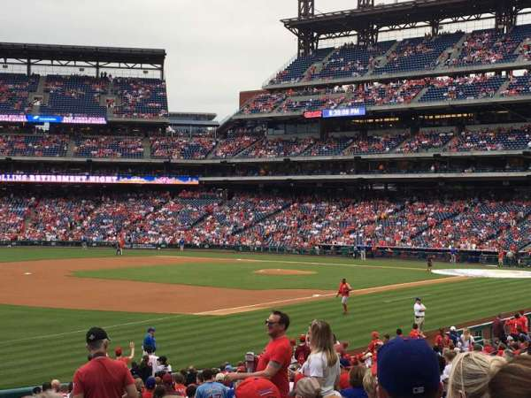 Citizens Bank Park, section: 136, row: 27, seat: 9