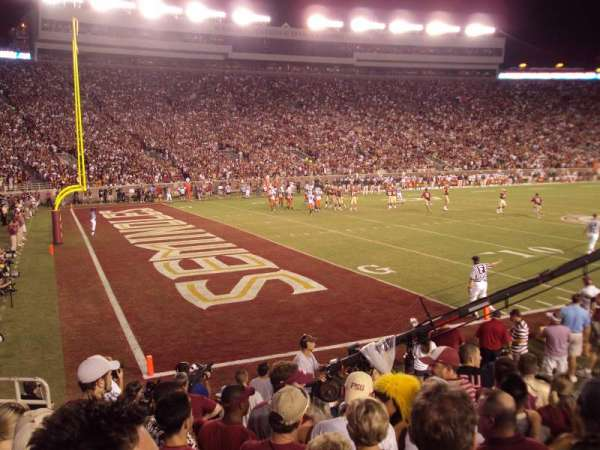 Bobby Bowden Field at Doak Campbell Stadium, section: 38, row: 9, seat: 5-6