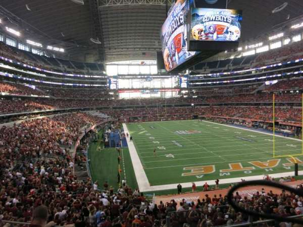 AT&T Stadium, section: 201, row: 3, seat: 1-2