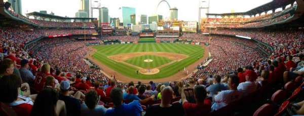 Busch Stadium , section: 250, row: 8, seat: 13