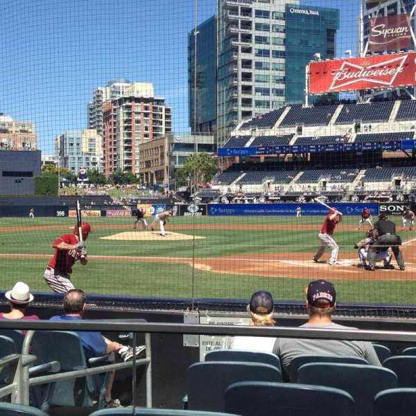 PETCO Park, section: 104, row: 8, seat: 5