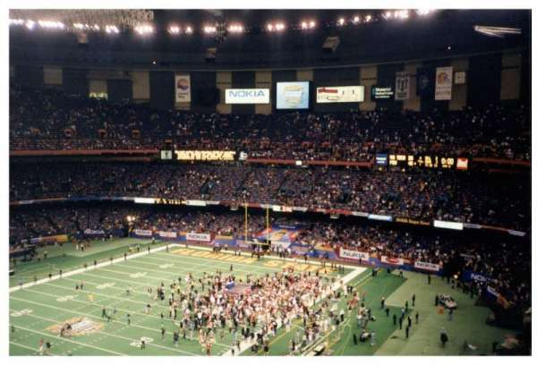Caesars Superdome, section: 648, row: 15, seat: 5-6