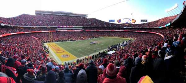Arrowhead Stadium, section: 207, row: 5, seat: 14