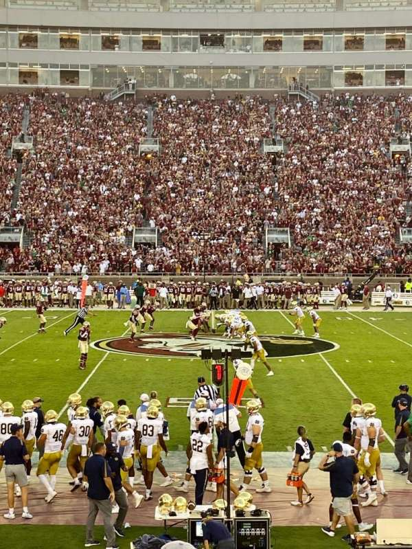 Bobby Bowden Field at Doak Campbell Stadium, section: 10, row: 15, seat: 10