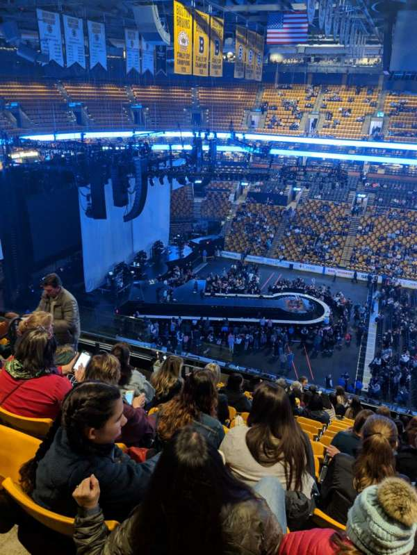 TD Garden, section: BAL316, row: 13, seat: 13