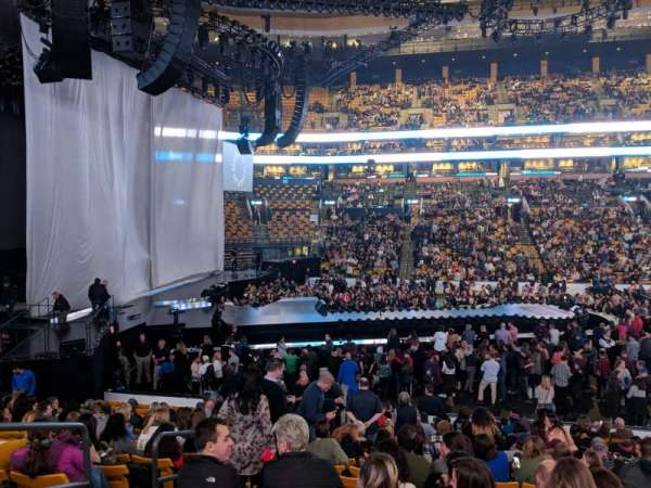 TD Garden, section: New LOGE 13, row: 17, seat: 11