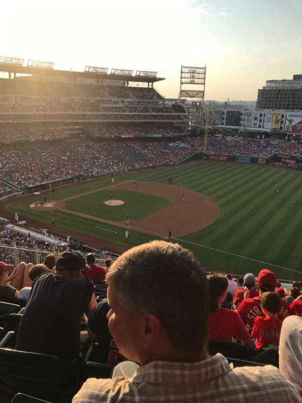 Nationals Park, section: 222, row: T, seat: 19