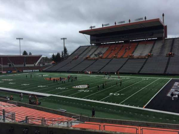 Reser Stadium, section: 112, row: 20, seat: 15