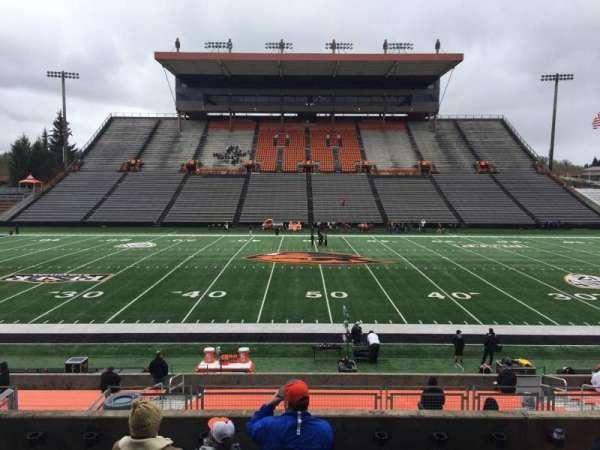 Reser Stadium, section: 116, row: 20, seat: 14