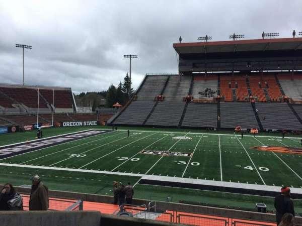 Reser Stadium, section: 117, row: 20, seat: 13